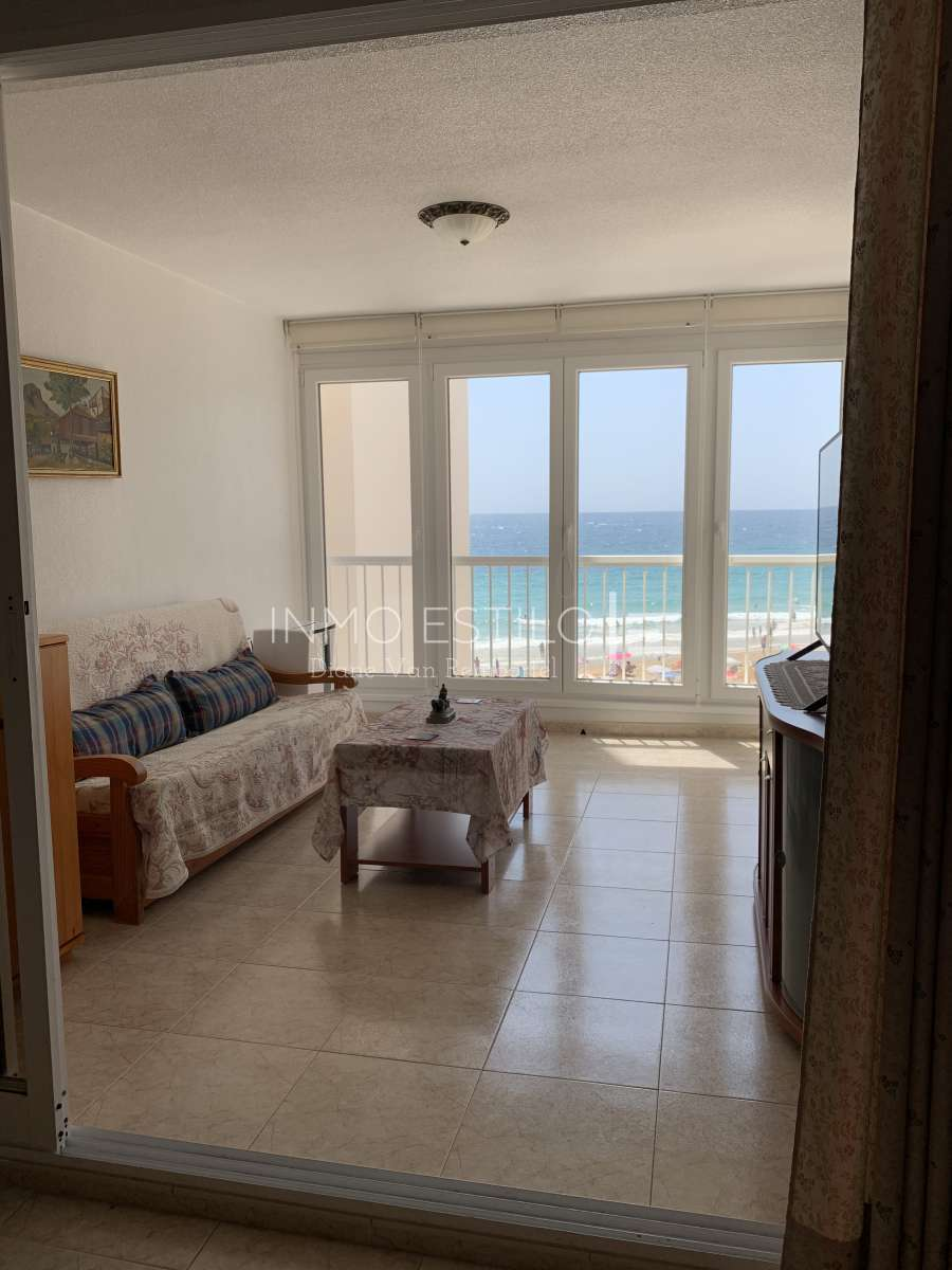 Front line apartment in the beach Arenal